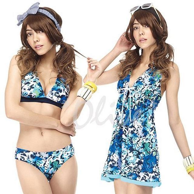 【SAIN SOU 聖手牌】時尚三件式比基尼泳裝(NO.A93413)