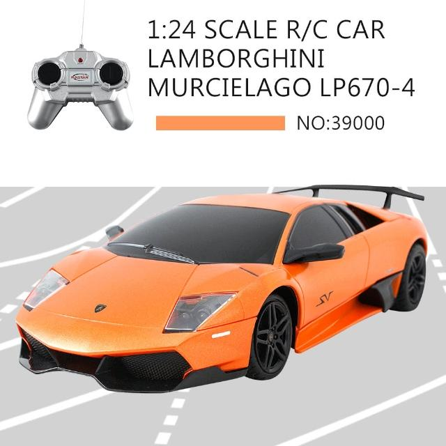 【瑪琍歐玩具】1:24 LAMBORGHINI MURCIELAGO LP670-4 遙控車(39000)