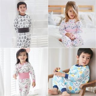 【Baby童衣】居家服 護肚套裝 印花造型保暖空氣棉 70118(共12色)