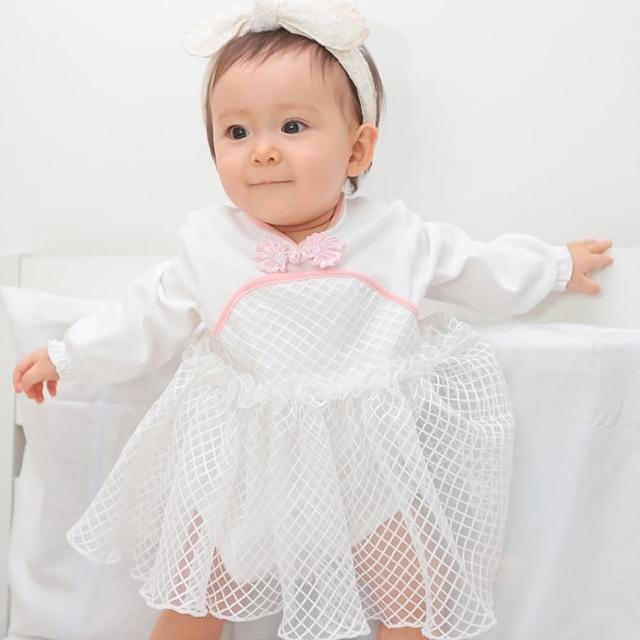 【Baby童衣】包屁裙 中國風紗紗包屁衣 女寶寶 70127(共1色)