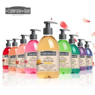 【法國Le CompToiR du Bain 芭朵集團】古法馬賽液態皂x1(味道任選)