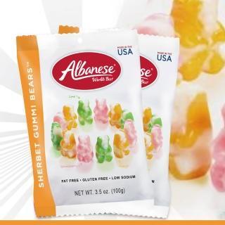 【美國艾爾巴】冰淇淋口味小熊軟糖100g