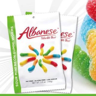 【美國艾爾巴】迷你酸爆小蟲造型軟糖100g