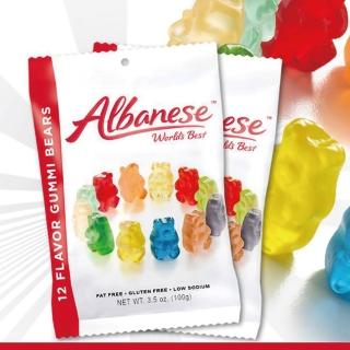 【美國艾爾巴】12種小熊軟糖100g