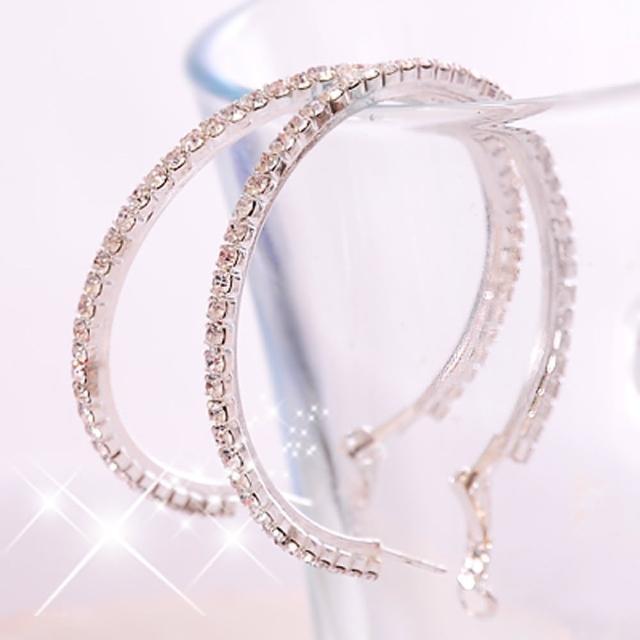 【Lady c.c.】綺麗透晶序曲水鑽耳環(小)
