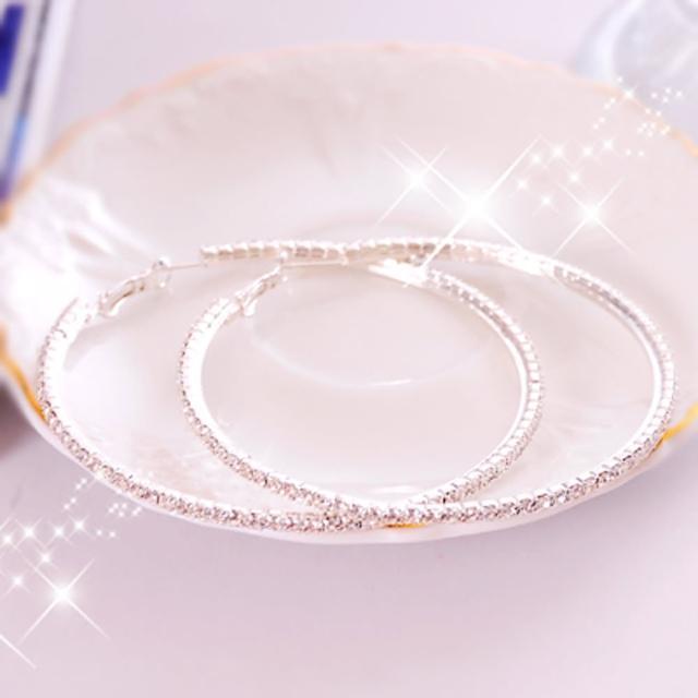 【Lady c.c.】綺麗透晶序曲水鑽耳環(中)