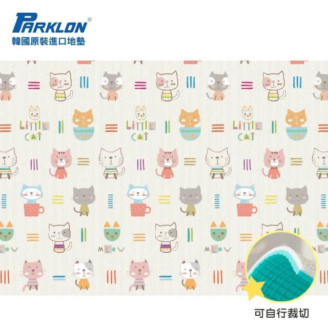 【Parklon 韓國帕龍】無毒地墊 - 單面切邊(貓咪)