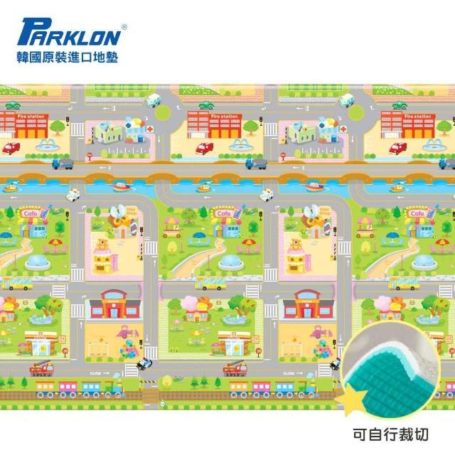 【Parklon 韓國帕龍】無毒地墊 - 單面切邊(車車迷宮)