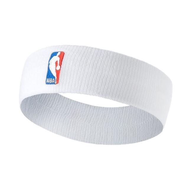 【NIKE 耐吉】NBA DRI-FIT 單色頭帶-客場-髮帶 慢跑 一只入 籃球 飛人喬丹 白紅藍(NKN02100OS)