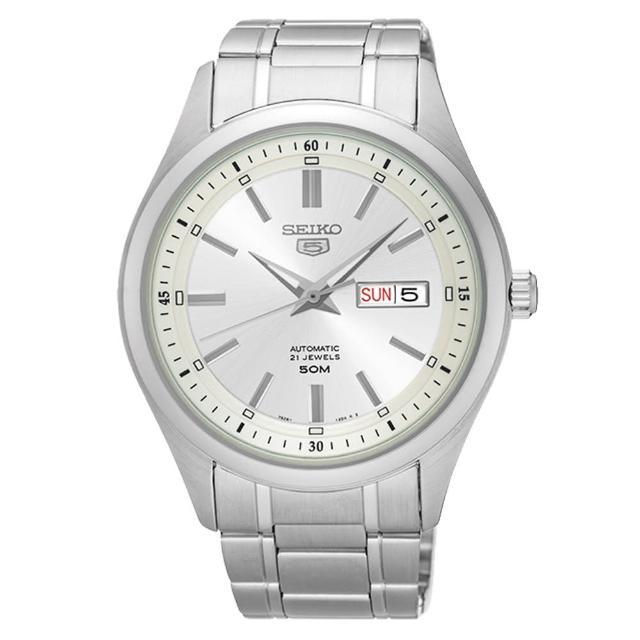 【SEIKO 精工】機械錶機芯 日期 男錶 防水(SNKN85J1)