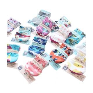 【4件裝】新生嬰兒純棉Mittens防抓手套護手套