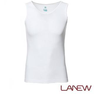 【La new】冰膚涼感 U領無袖內衣(男款*283080140)