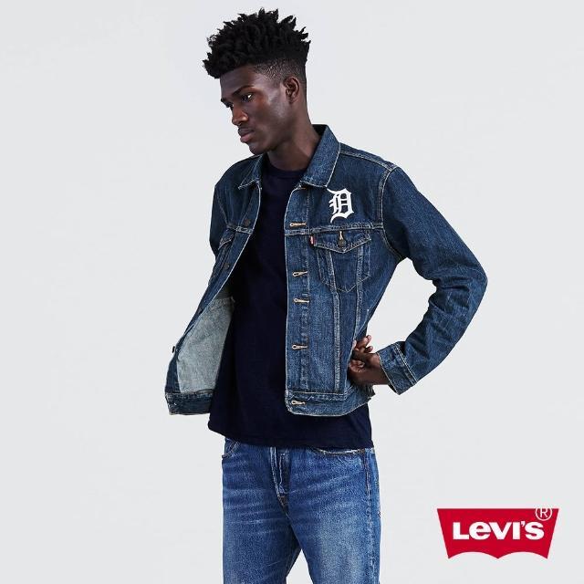 【LEVIS】牛仔外套 男裝 / LEVI'S X MLB底特律老虎 / 立體刺繡