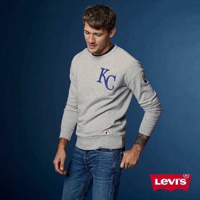 【LEVIS】大學T 男裝 / LEVI'S X MLB 堪薩斯市皇家 / 限量聯名