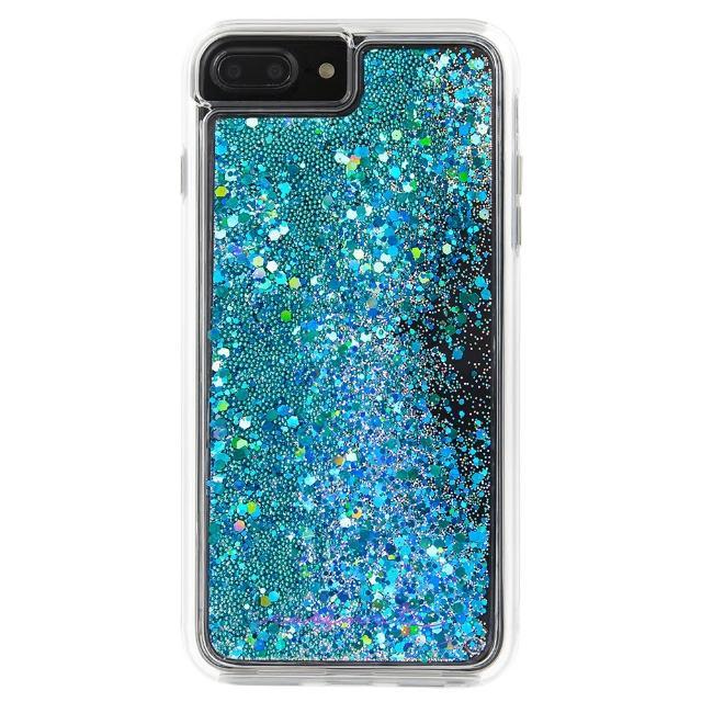【美國 Case-Mate】iPhone 8 Plus/7 Plus Waterfall(亮粉瀑布防摔手機保護殼 - 藍綠)