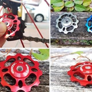 【May Shop】twooc自行車導輪陶瓷後撥導輪 CNC鋁合金配件(多色選擇)