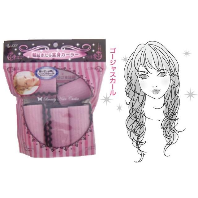 【LUCKY】日本製海綿髮卷37mm-8入(017-580)