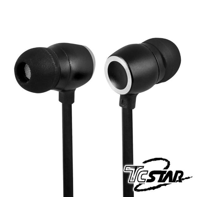 【T.C.STAR】重度搖滾樂迷有線入耳式耳機麥克風/黑(TCE6070BK)