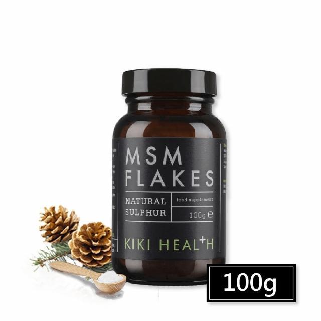 【寶草園】英國KIKI-Health 100%純MSM二甲基鳳粉100g(有機硫)