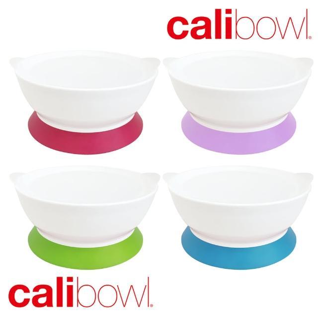 【Calibowl】防專利防漏防滑幼兒吸盤碗(12oz-單入附蓋)