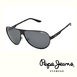 【Pepe Jeans】英倫時尚簡約風格太陽眼鏡(PJ5059MC1  黑)