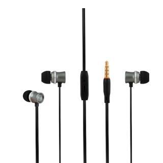 【T.C.STAR】Jazz樂迷 有線入耳式耳機麥克風/灰(TCE6140GR)