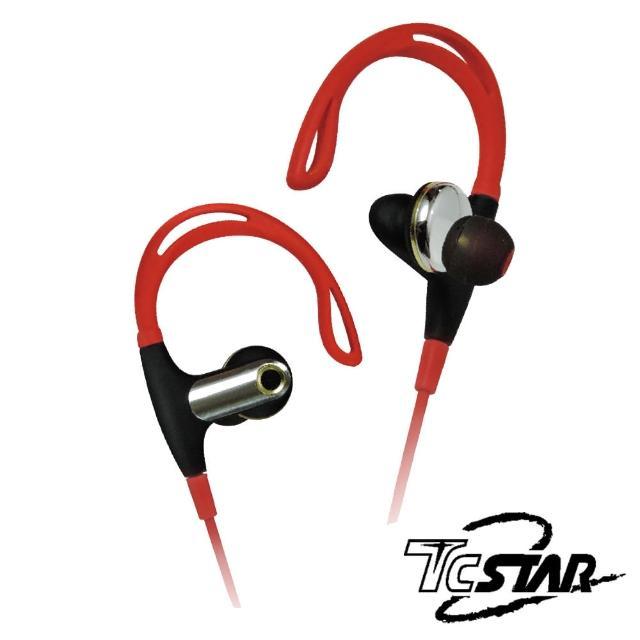 【T.C.STAR】耳掛式運動藍牙耳麥/紅色(TCE8200RD)