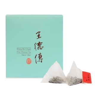 【王德傳】黑製普洱三角立體茶包10入