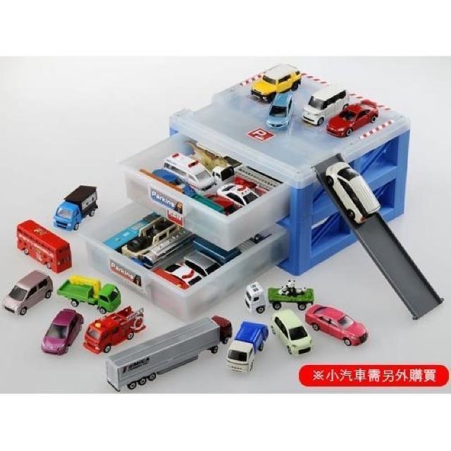 【TOMICA 交通世界】新停車場提盒 原廠公司貨(TW49477)