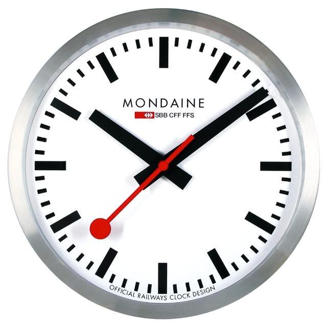 【MONDAINE 瑞士国铁】瑞士国铁经典挂钟(40cm)