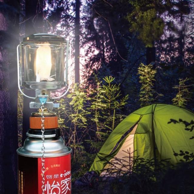 【山野傳奇】瓦斯燈 AJ-1小 套件組(露營燈 瓦斯燈 登山)