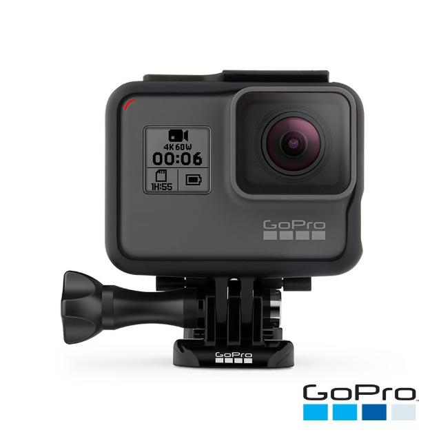 【送 收藏家-獨家防潮箱HD-42+】【GoPro】HERO6 Black運動攝影機(CHDHX-601)