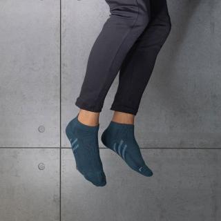 【aPure】除臭襪斜紋氣流導引運動襪(灰藍)