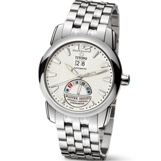 【TITONI 梅花錶】Master Series 天文台認證機械腕錶(94888 S-297)