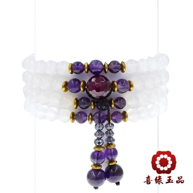 【喜緣玉品】善成108白玉髓念珠(6mm)