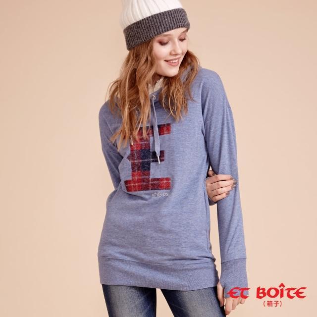 【BLUE WAY】插繡E高領帽T-ET BOiTE 箱子
