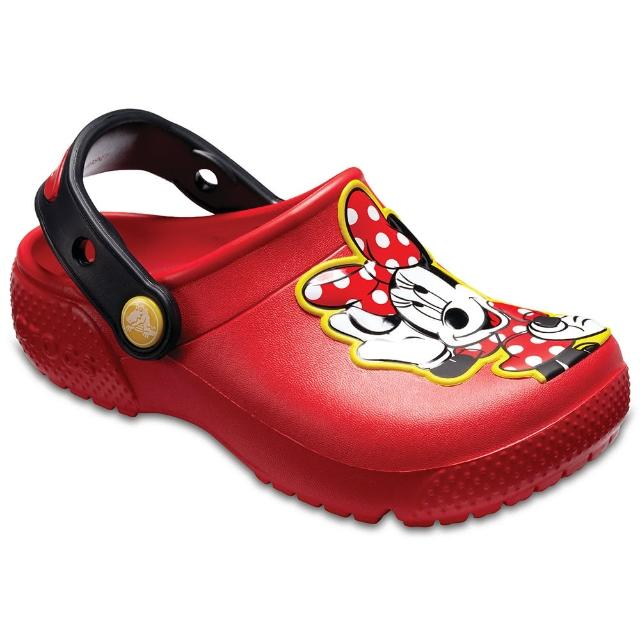 【CROCS】童鞋 趣味學院米妮小克駱格(204995-8C1)