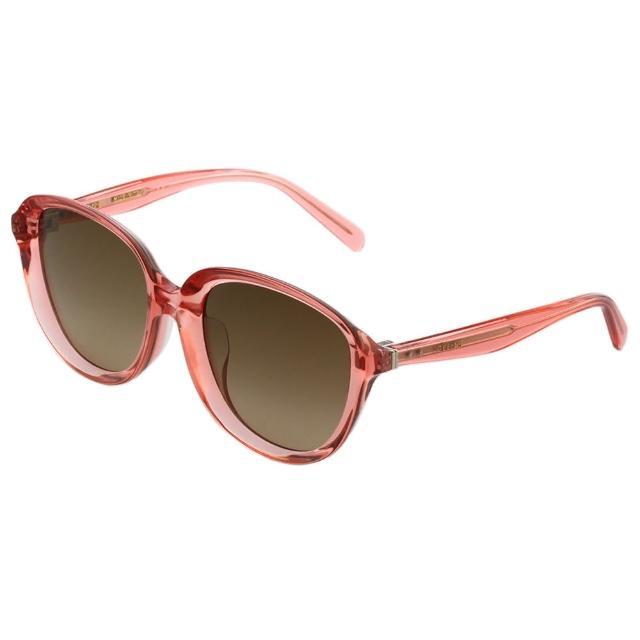 【CELINE】復古內凹 太陽眼鏡(果凍粉CL41453)