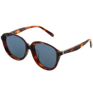 【CELINE】復古內凹 太陽眼鏡(琥珀色CL41453)