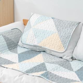 50x70CM 純棉舒柔可機洗布藝防滑絎縫墊 沙發墊 坐墊 地墊