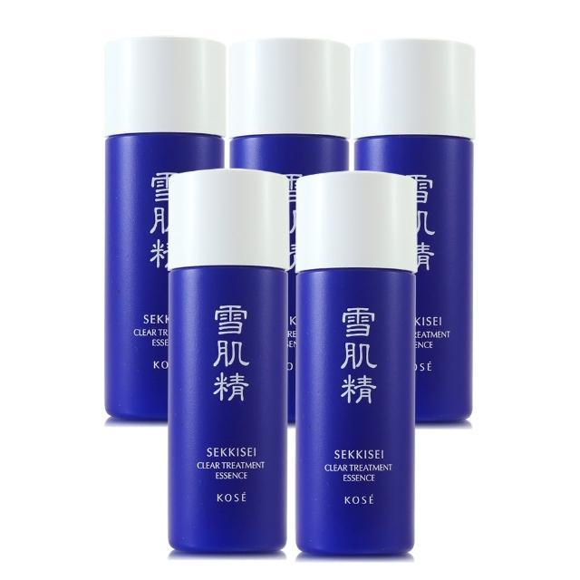 【KOSE 高絲】雪肌精化妝水45ml*3 - 贈海洋帆布托特包(正統公司貨)