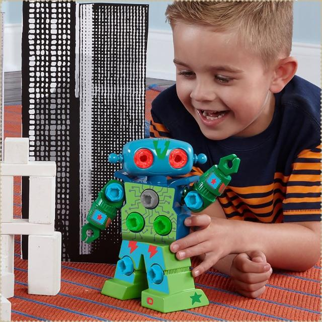 【Educational Insights - Design & Drill天才工程師 - 搖滾機器人】