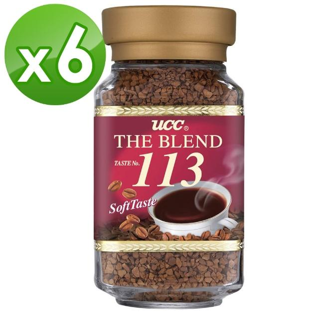 【UCC】第三代即溶咖啡-113即溶咖啡6罐組(100g/罐)