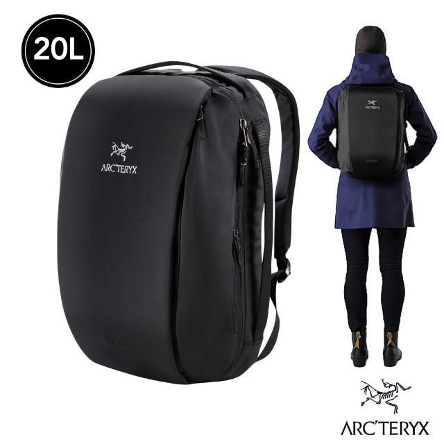 【Arcteryx 始祖鳥】24系列 Blade 20L 多功能電腦後背包(黑)