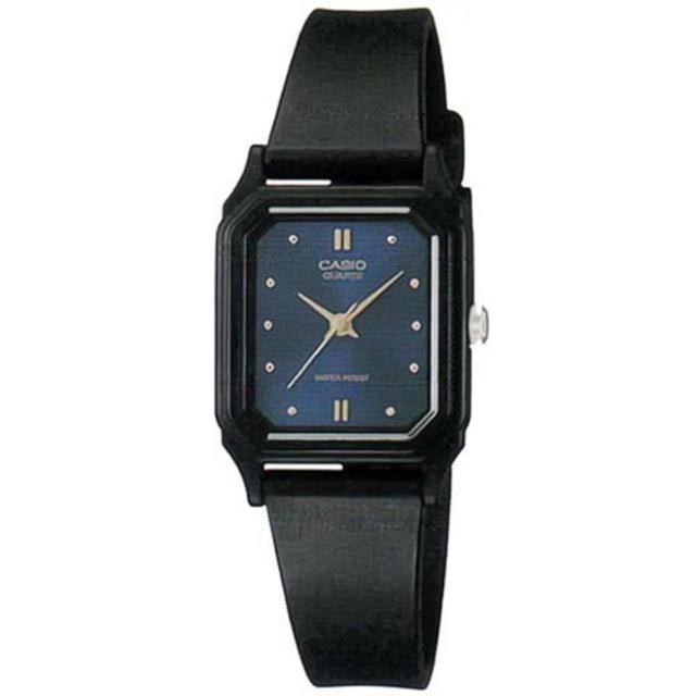 【CASIO 卡西歐】薄型輕巧指針錶-藍面(LQ-142E-2A)