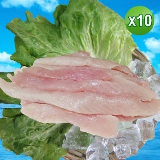 【賣魚的家】買一送一超涮嘴虱目魚柳條5包組(300G/包 共10包組)