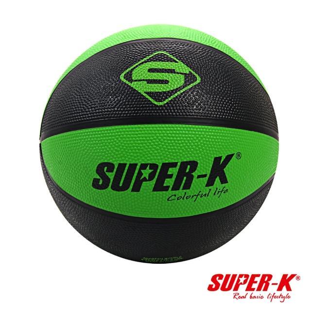 【酷博士】SUPER-K  7號雙色橡膠籃球(SBA0711)