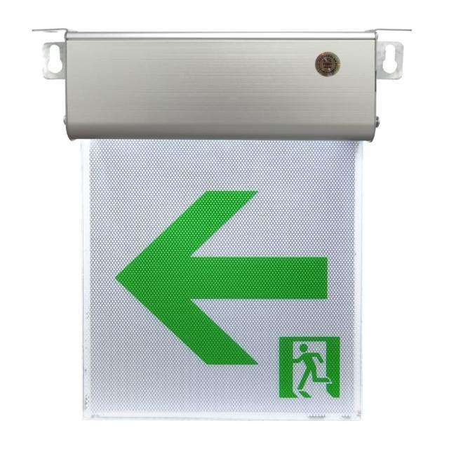 小型1:1LED避難方向燈-左向