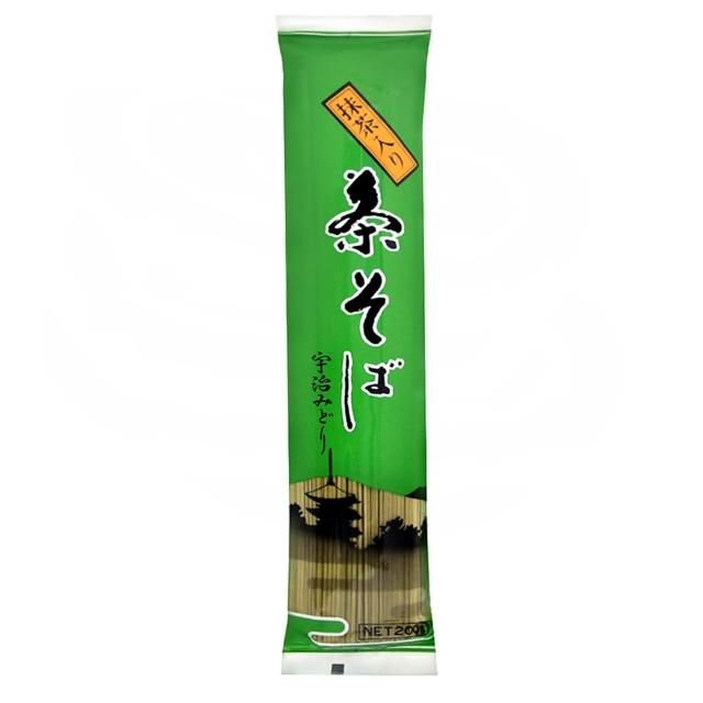 【Kanesu製麵】宇治茶麵-蕎麥麵(200g)