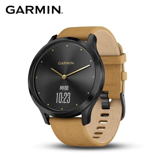 【GARMIN】vivomove HR時尚智慧腕錶(典雅款)